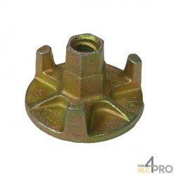 Ecrou à oreilles Ø15/17 mm - base 110 mm