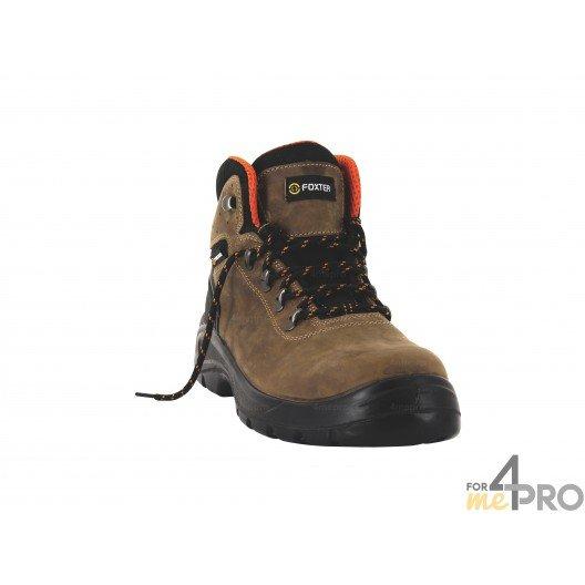 Chaussures de sécurité homme Scorpion hautes Espaces Verts - normes S3/SRC/WRU