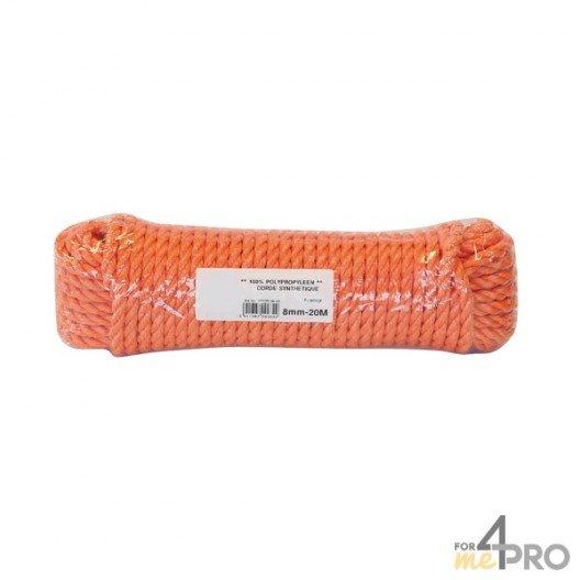 Corde polypropylène 8mm/20m