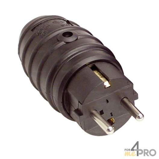 Fiche prise IP44 PVC mâle