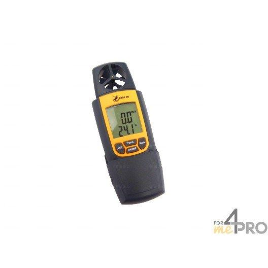 Anémomètre, Thermomètre et Hygromètre - 3 en 1