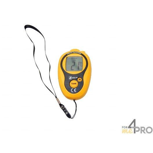 Thermomètre infrarouge à visée laser compacte -20°C à +270°C