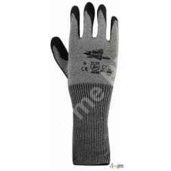 Gants anti-coupure - polyuréthane sur support composite - manchette 15 cm - norme EN 388 4542
