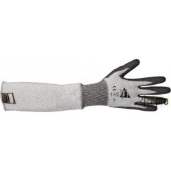 Gant-manchette anti-coupure 50cm - enduction polyuréthane - norme EN 388 4542