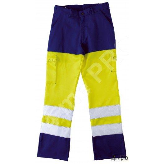 Pantalon Haute Visibilité fluorescent Homme EN 471