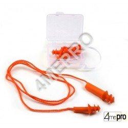 Bouchons d'oreilles avec boîte de rangement - SNR 25 dB