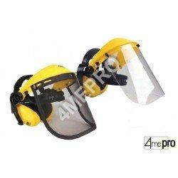 Visière protège-oreilles - normes EN 352-1/EN 166 3B/EN 1731 F