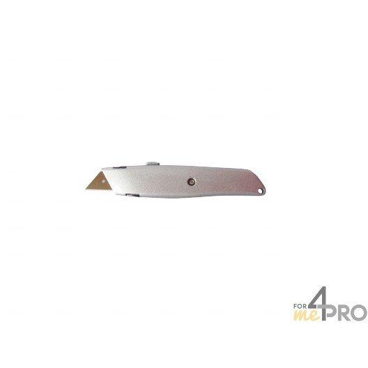 Couteau rétractable métallique 1er prix