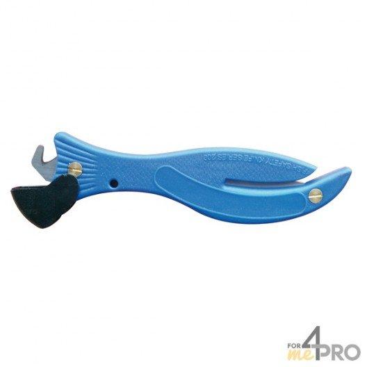 Couteau de sécurité ABS 2 lames