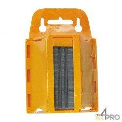 Lames cutter maxi trapèze 60 mm de rechange en distributeur 100 lames