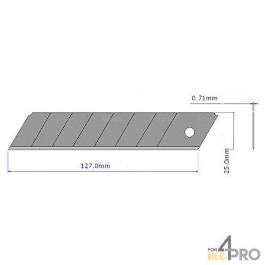 Lame cutter 25 mm