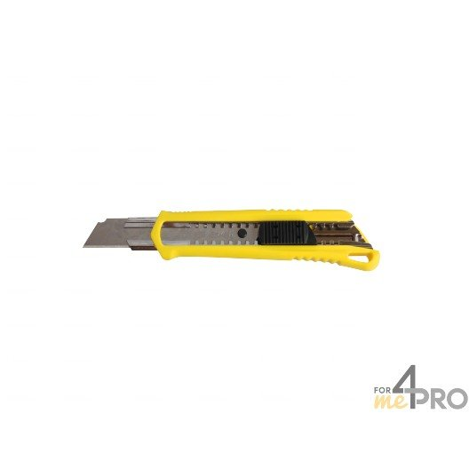 Cutter blocage automatique jaune