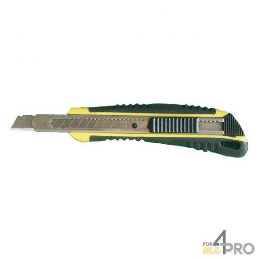 Cutter 9 mm bi-matière