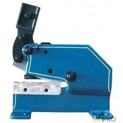 Cisaille à levier pour fer plat - lame 120 mm