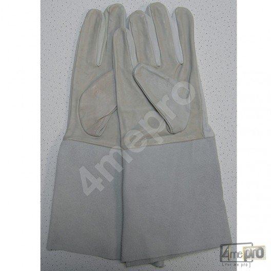 gants pour soudure tig mig en cro te de cuir. Black Bedroom Furniture Sets. Home Design Ideas