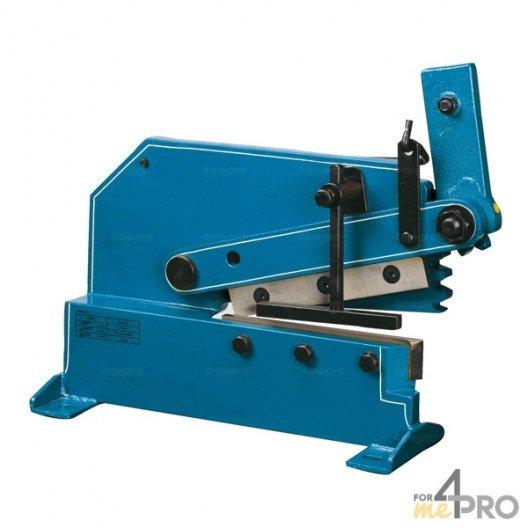 Cisaille à levier pour fer plat - lame 250 mm