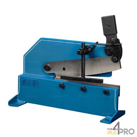 Cisaille à levier pour fer plat - lame 300 mm