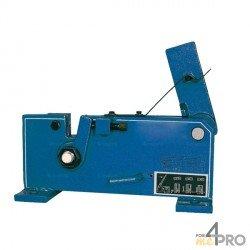 Cisaille à levier pour fer rond bleu 26 mm