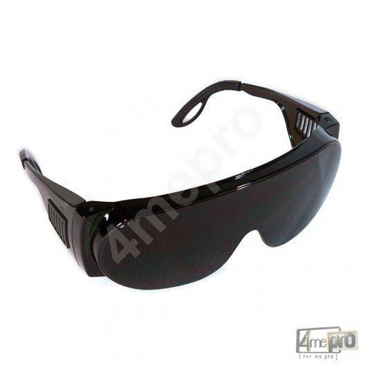 Sur lunettes de protection – Chamonix