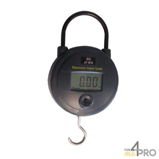 Dynamomètre digital à suspendre 15 cm - capacité 25 kg