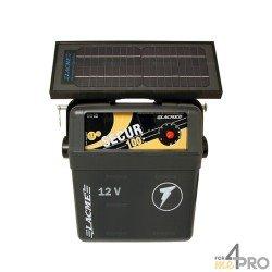 Electrificateur solaire Lacmé Secur Solis - 6 W + Accu 50 AH