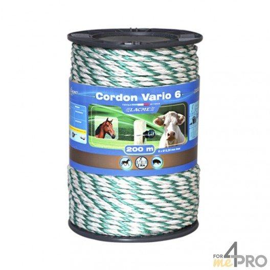 Cordon Vario pour clôture électrique Lacmé