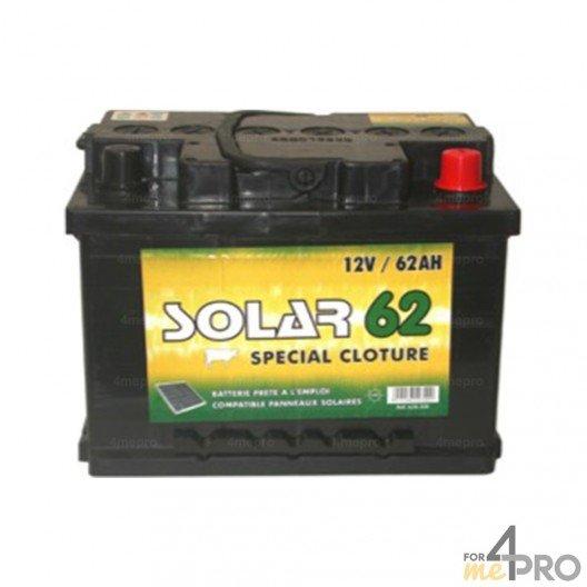 Batterie 12V Lacmé Solar 62 aH