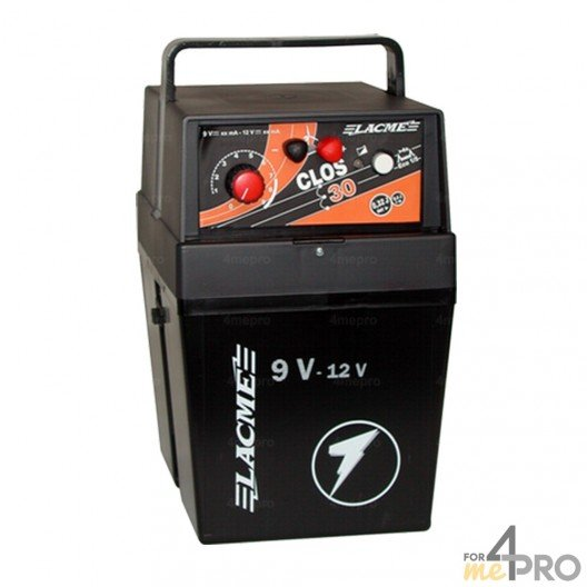 Electrificateur autonome Lacmé 9V ou 2W - Gamme Clos 30