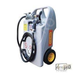 Caddy de ravitaillement avec pompe manuelle - 60 L