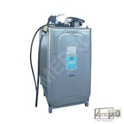 Cuve de stockage gasoil 1000 L avec pompe électrique 230 V