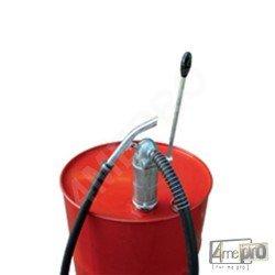 Pompe vide fût Atex en acier - 0,25 l/double action