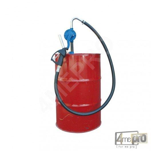 Pompe manuelle rotative pour gasoil huile hydraulique et lubrifiants
