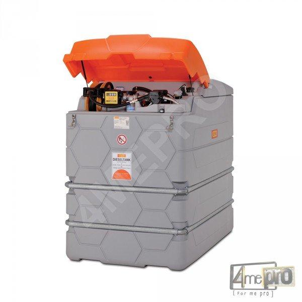 cuve de stockage gasoil go cube avec pompe lectrique 230 v. Black Bedroom Furniture Sets. Home Design Ideas