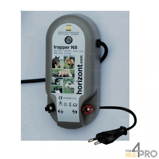 Electrificateur de clôture Trapper N8  - 230 V