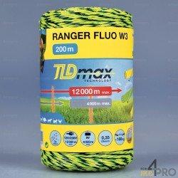 Fil Ranger fluo W3 - Parcellement et courtes clôtures