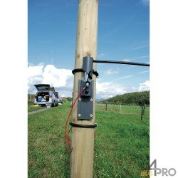 Kit 2 barrières électrifiées automatiques 3,60m
