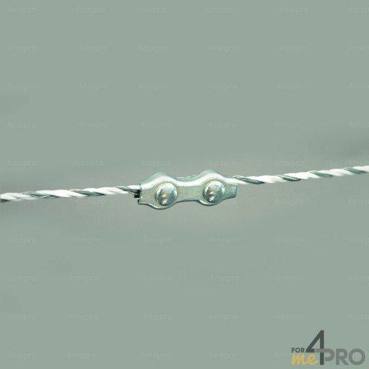 Raccord de jonction pour fils et cordes 6 mm