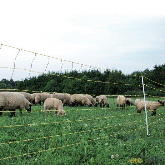 Filet Horinetz avec piquets pour chèvres et moutons - 90cm/50m horizont