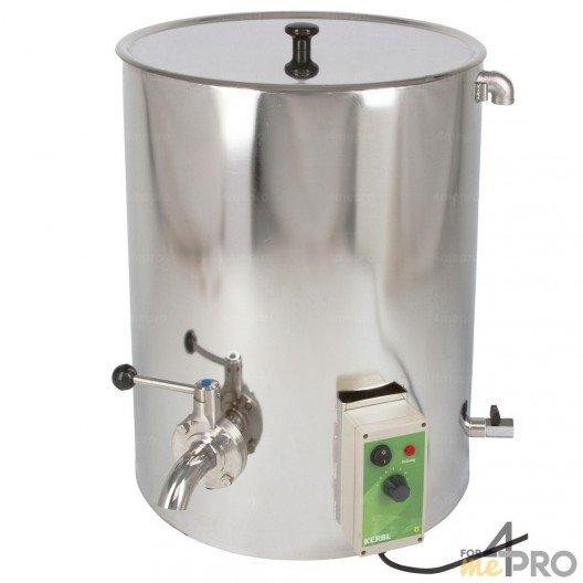 Chauffe-lait en acier Milkpot 50