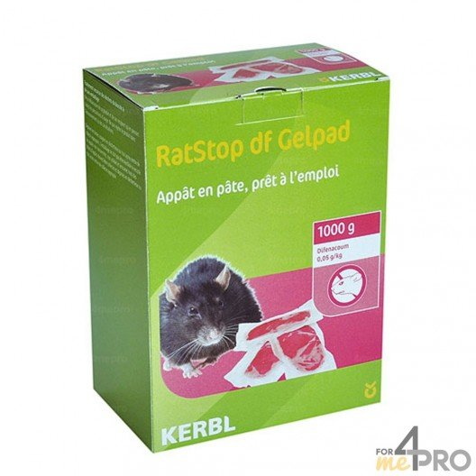 Raticide-Souricide en pâte (1 kg)