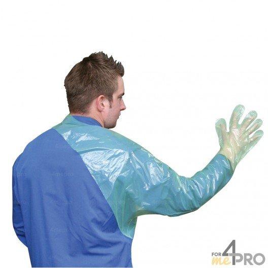 Gants vétérinaires à usage unique avec protection d'épaule