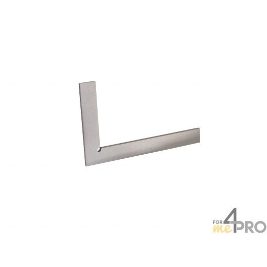 Equerre de mécanicien simple standard acier 200x130mm - précision 1/20