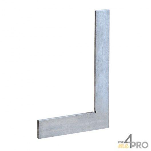 Equerre de mécanicien simple standard acier 300x180mm - précision 1/20