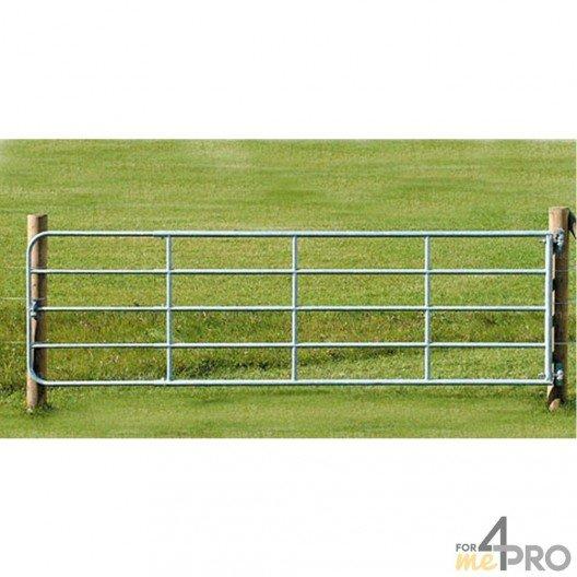 Portail de clôture réglable