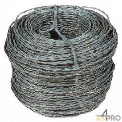 Câble lisse galvanisé pour chevaux