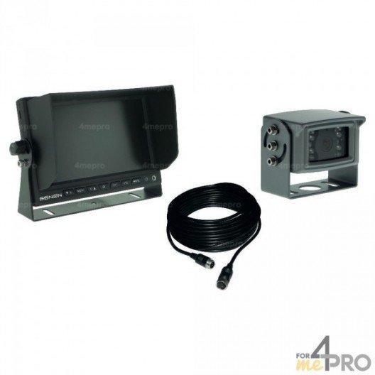 Kit caméra + écran couleur 7'' Semi-Pro