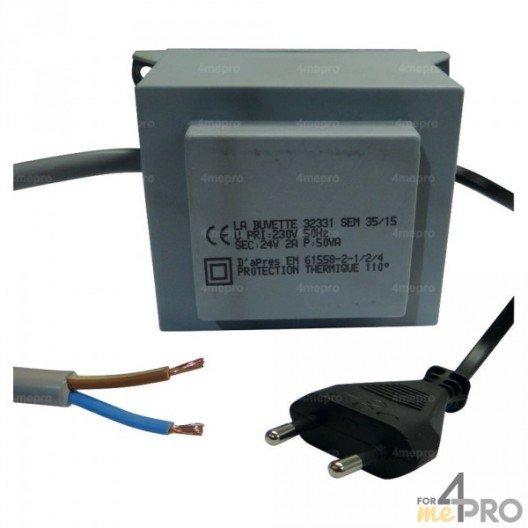Transformateur 230/24 volts pour abreuvoir