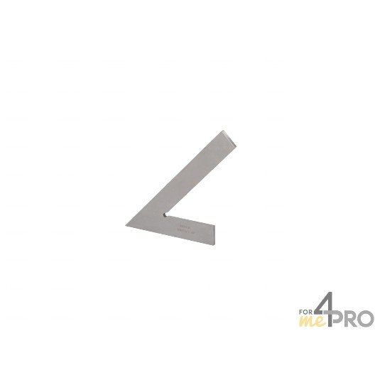 Equerre de mécanicien simple acier 20 cm - 45°