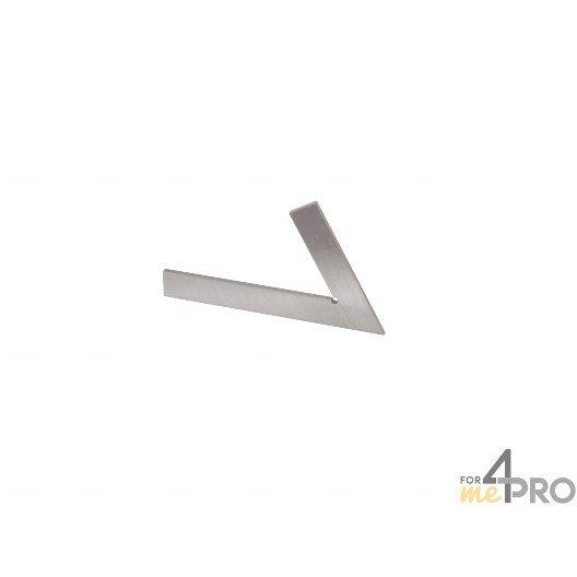 Equerre de mécanicien simple acier 20 cm - 60°