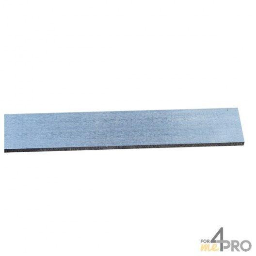Règle de mécanicien rectangulaire non graduée 50 cm